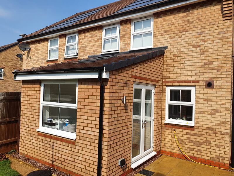 Small Extension in Fairfields